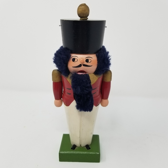 Vintage Other - 2/$20 Vintage Wooden Toy Soldier Nutcracker